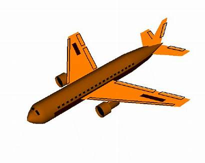 Airplane Clipart Animated Plane Animation Spoilers Cliparts