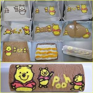 winnie the pooh cake rollcute idea kochen With winnie the pooh cake template