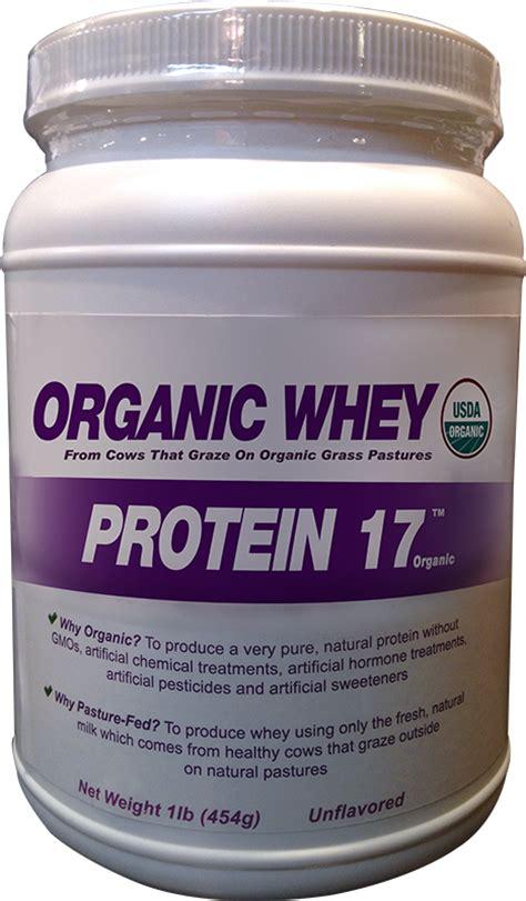 Amazon.com: Organic Whey Protein 17 Supplement Powder