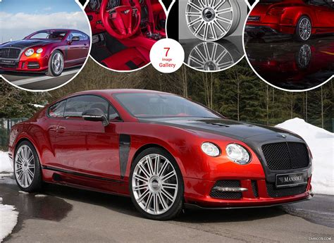 2013 Mansory Sanguis Based On Bentley Continental Gt