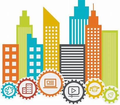 Facilities Management Building Clipart Infrastructure Transparent Services