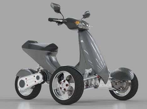 Electric Motorsport by Tilting Electric Trike Motorcycle Reviewmotors Co