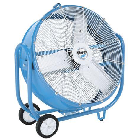 chlorine gas exhaust fans clarke cam6000 30 quot drum electric fan machine mart