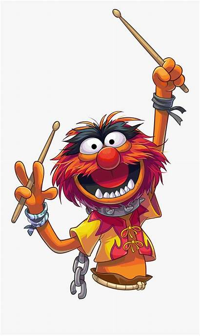 Muppet Animal Clipart Muppets Drummer Clipartkey Cliparts