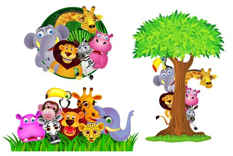 Animal Themed Wallpaper - jungle theme wallpaper wallpapersafari