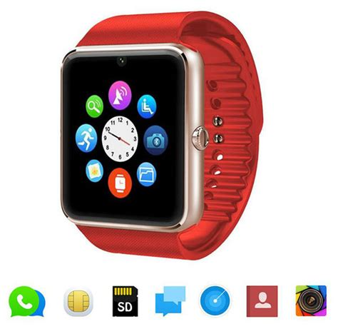 smartwatches compatible with iphone bluetooth smartwear phone watches gt08 with sim card
