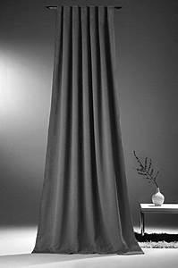 Gardinen Blickdicht Lichtundurchlässig : novum fix gardine vorhang f r verdunkelung thermoeffekt kr uselband blickdicht und ~ Buech-reservation.com Haus und Dekorationen