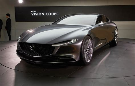 mazda coupe mazda embraces minimalism with vision coupe concept