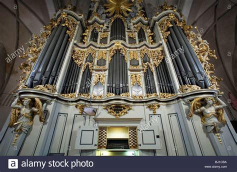 Church Pipe Organ At St Marienkirche Berlin Germany