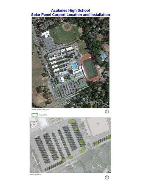 solar projects summer acalanes high school