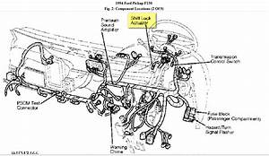 Wiring Diagram And Lacation Of The Shift Interlock Solenoid On 1994 Ford 150