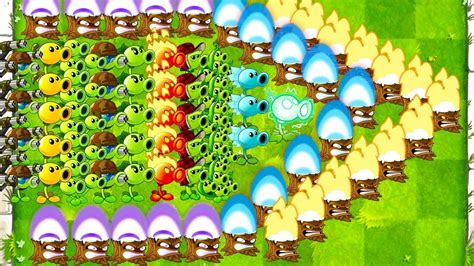 every peashooter challenge in plants vs zombies 2 mod max levels torchwood peashooters