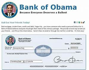 Stimulus Package Virals: 'Bank of Obama' Now Open Since ...