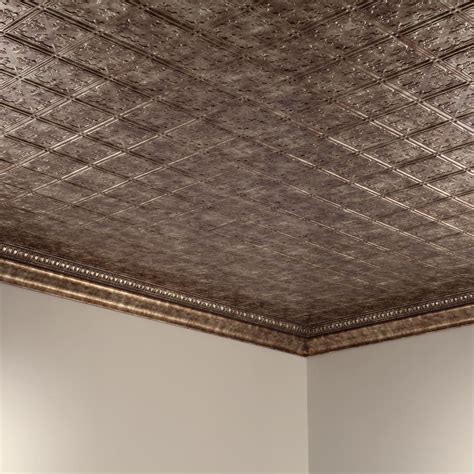 fasade ceiling tile 2x4 direct apply traditional 10 in