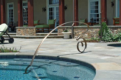 wall hanging shelves rails traditional pool chicago by mueller