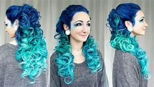 Blaue Haare Ombre : 20 ombre hair color ideas you 39 ll love to try out ~ Frokenaadalensverden.com Haus und Dekorationen