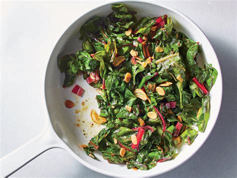 almond garlic swiss chard recipe cooking light