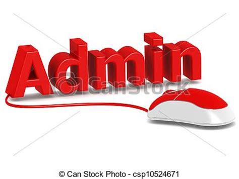 commis bureau image de administration souris ordinateur rendered