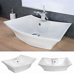 Waschbecken Oval Aufsatz : waschbecken design keramik wasch schale oval aufsatz waschtisch waschplatz 221 ~ Orissabook.com Haus und Dekorationen