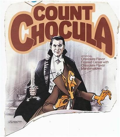 Count Chocula Cereal Box Lugosi Bela Attic