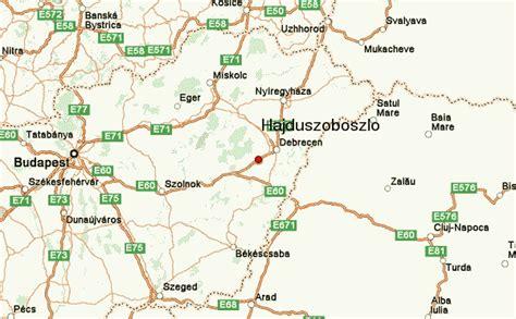 Hajduszoboszlo Hungary Map