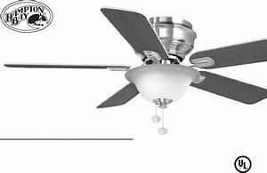 Hampton Bay Outdoor Ceiling Fan 122 135 User Guide