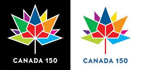canada  years anniversary  flag logo caps