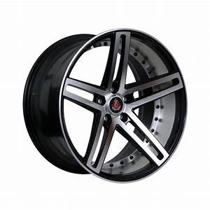 Jante Chrysler 300c : axe ex20 20 black polished face alufelnik ah wheels ~ Melissatoandfro.com Idées de Décoration