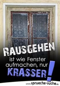 Wie Putze Ich Fenster : rausgehen oder fenster auf coole spr che ~ Markanthonyermac.com Haus und Dekorationen