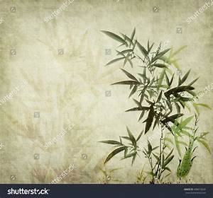 Traditional Chinese Painting Bamboo Stock Illustration ...