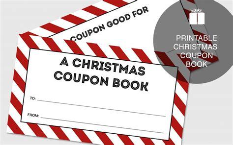 printable christmas coupon book  gifting
