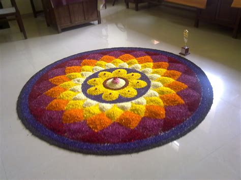 Onam Special Pookkalam Designs Free Download