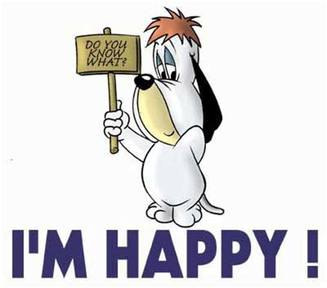 humour chiens droopy im happy centerblog