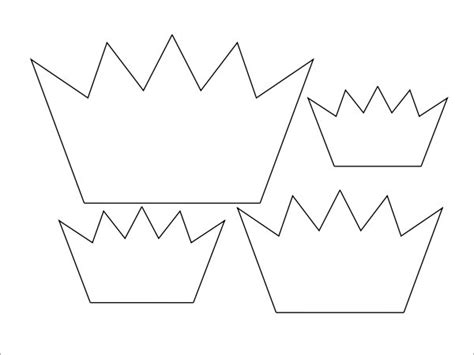 Free Printable Princess Crown Template by 11 Crown Sles Pdf Sle Templates