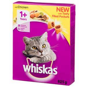 whiskas chicken filled pockets 825g cat food pet food