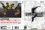 Resident Evil 5: Wii Edition Wii Box Art Cover by Sir Tobbii