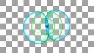 Boron Atom - Stock Video Clip - K002  3048