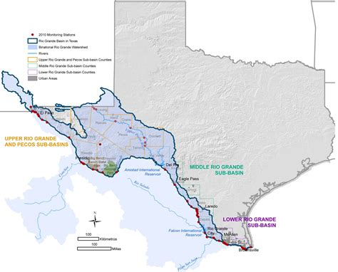 Texas Clean Rivers Program Study Area