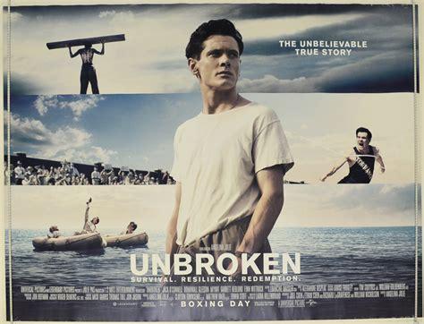 unbroken original cinema  poster  pastposters
