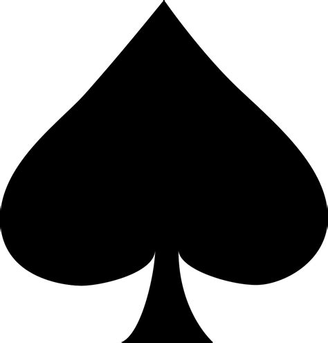 spade svg png icon