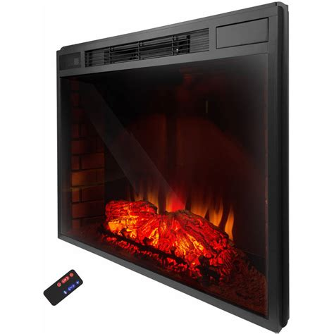 33 Inch Electric Fireplace Insert with Remote Control