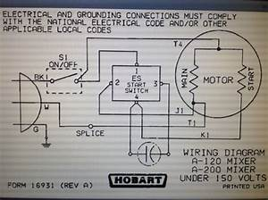 A200 Hobart Mixer - Electrical