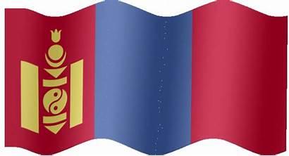 Flag Mongolia Animated Flags Mongolian Animation Extra