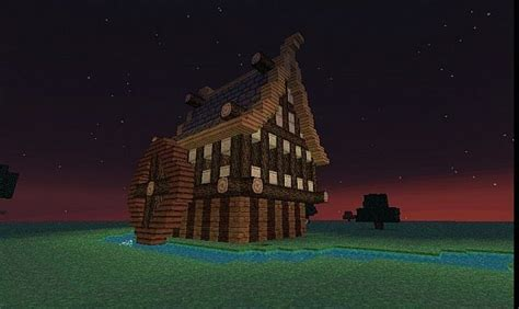 rustic house minecraft map