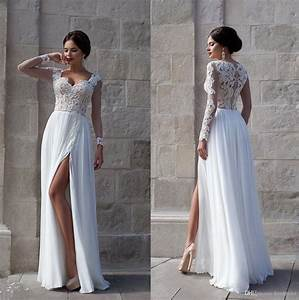 beach wedding dresses for 2015 summer queen anne neckline With wedding dresses 2015 summer