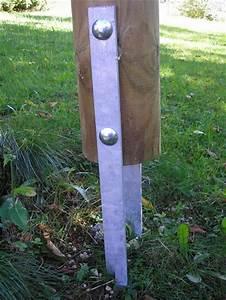 Support Poteau Bois Leroy Merlin : sceller poteau bois ~ Dailycaller-alerts.com Idées de Décoration