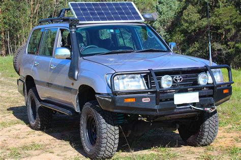 The lx wagon will carry five people and their gear anywhere. Toyota Landcruiser 105 Series Wagon Silver 61906 ...