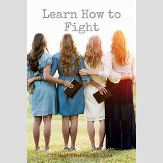 Learn How To Fight  Jennifer Hayes Yates