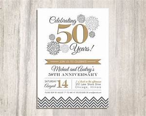 50th wedding anniversary printable invitation With free printable 30th wedding anniversary invitations