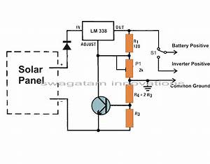 how to build a solar panel voltage regulator charger With wiring house solar